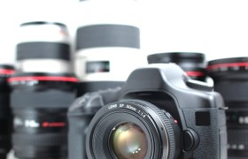 DSLR Camera & Set of Lenses
